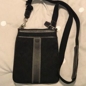 Classic Coach crossbody bag